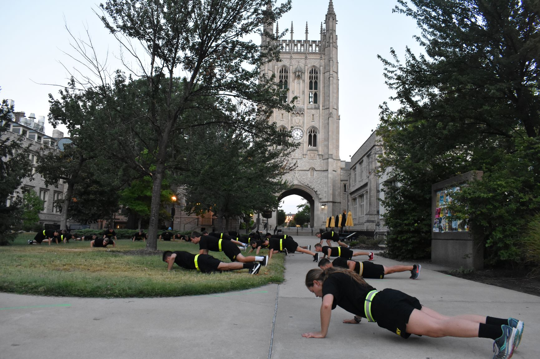 PT by Memorial Union