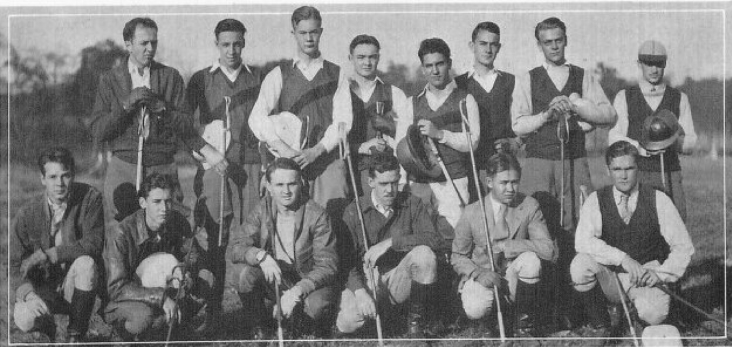 1929: Polo Team Formed
